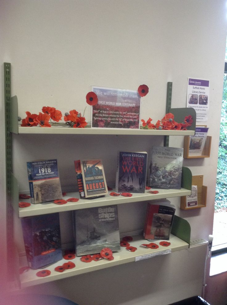 Display I did for WW1 centenary.