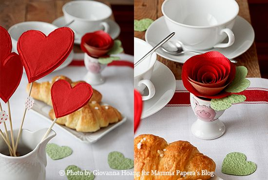 DIY Paper rose for a romantic S. Valentine - rose di carta per S.Valentino