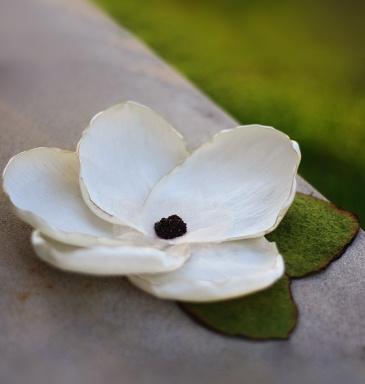 Magnolia Clip: Magnolias Hair, Diy Flowers, Hair Clips, Hair Bling, Photo