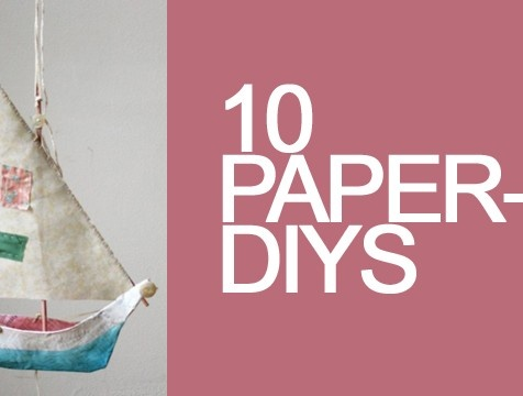 10 fab things to make with paper