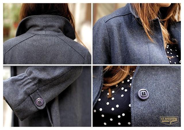 Made in France vintage coat