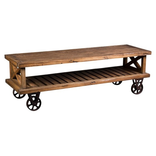 Foundry tv stand elena pinterest tv stands rustic for Coffee table 72 inch