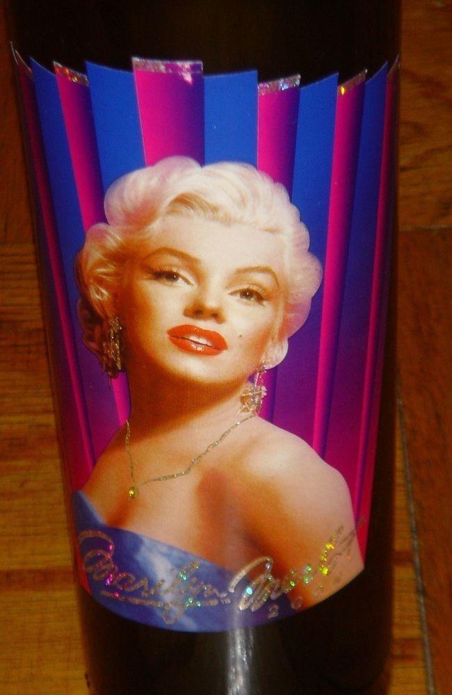 Marilyn Monroe Merlot 2004 Napa Wine 20th Twentieth Vintage Norma Jeane Empty #MarilynMerlot