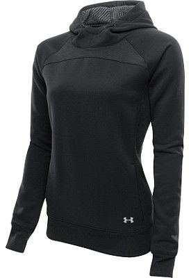 Under Armour Women's ColdGear Infrared Storm Hoodie From Sports Authority Color - Lead/Reflective (grey) Size - Large