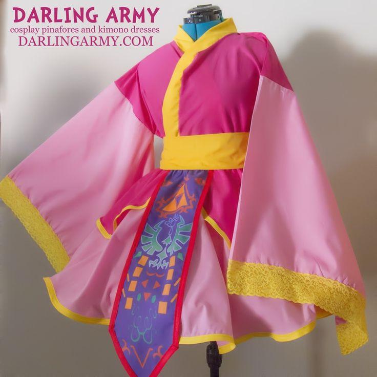 Princess Legend of Zelda Cosplay Kimono Dress Wa Lolita Accessory | Darling Army