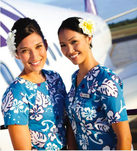 Hawaiian airlines Flight Attendants