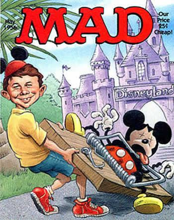 Cover of May, 1956 MAD magazine - MAD was a comic book first when it launched in 1952 -- it converted to a magazine in 1955. Did you read MAD as a kid?