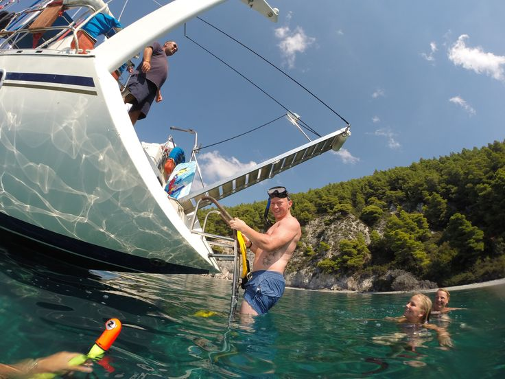 Swimming & Snorkeling Snorkeling @ the stunning bay of 150 near Kastani, Skopelos.