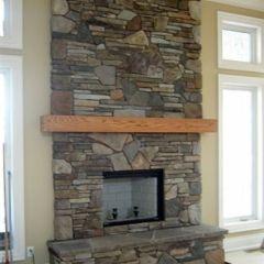 Wood Fireplace   Valcourt Antoinette