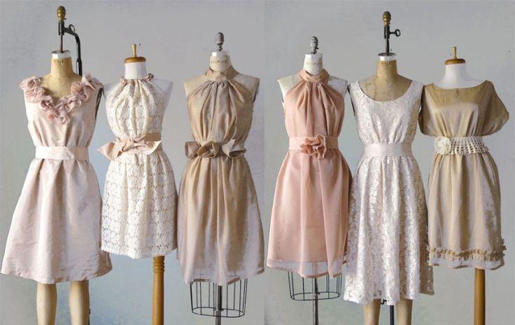 Vintage Style Bridesmaid Dresses - Mid Century Style Wedding ...
