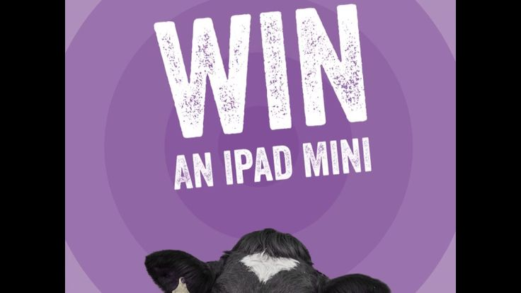 Name Our Cow Lr Competition Giveaway Giveaway Winner Ipad Mini