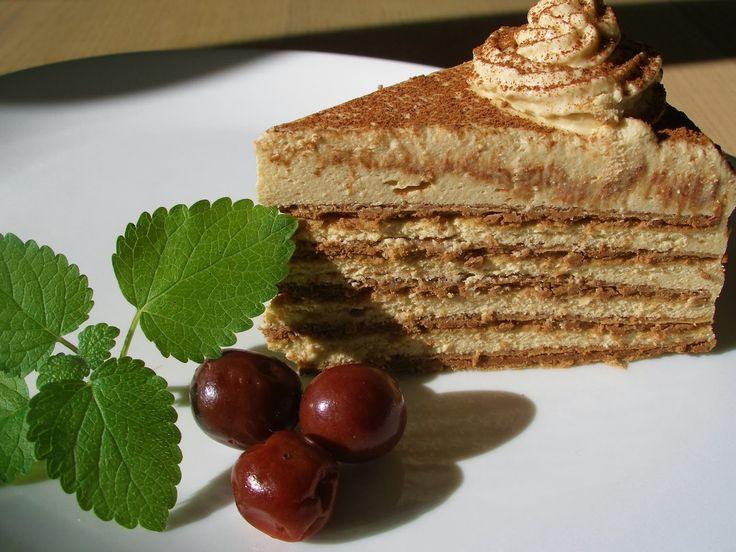 V kuchyni vždy otevřeno ...: Oplatkový dort lázeňského šviháka