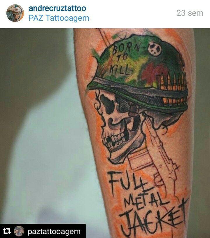Born to kill full metal jacket by andre cruz brazil