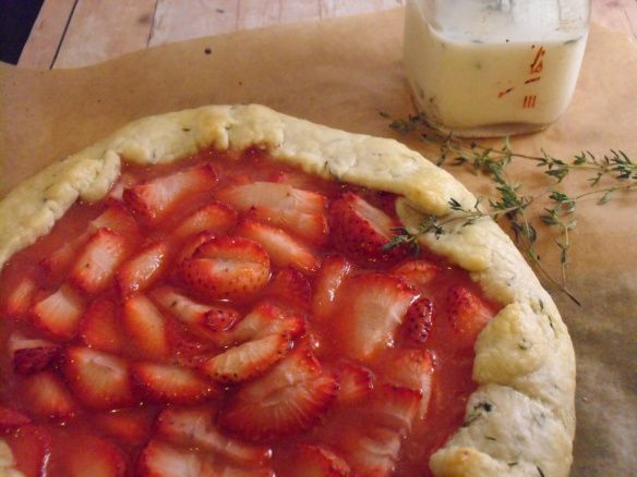 Strawberry Galette | Things I want to make and then eat | Pinterest