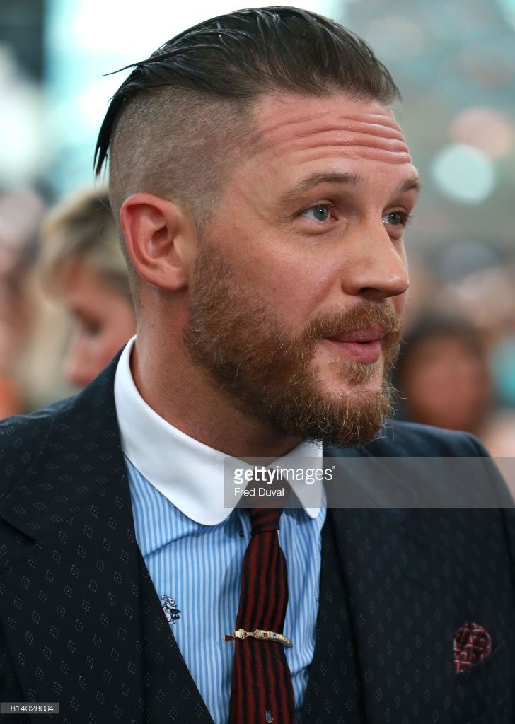 Tom Hardy attends the 'Dunkirk' Premiere -London, July 13th 2017