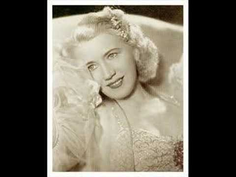 Erna Sack sings Rosen aus dem Süden (New Version) - YouTube