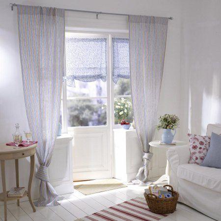 1000 ideen zu vorh nge landhausstil auf pinterest landhaus vorh nge esszimmer vorh nge und. Black Bedroom Furniture Sets. Home Design Ideas