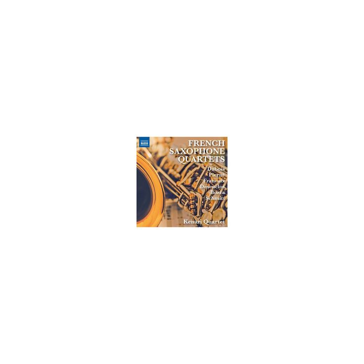 Kenari Quartet - French Saxophone Quartets (CD)