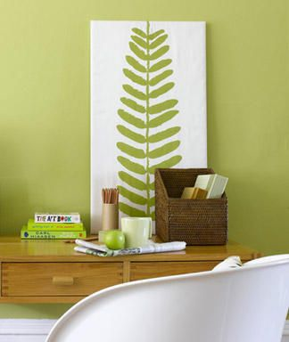DIY Canvas.. more good ideas when you click on it-- cover a canvas with fabric~ Easy and cute!