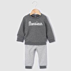 Ensemble sweat et pantalon 0 mois-3 ans R baby - Bébé garçon