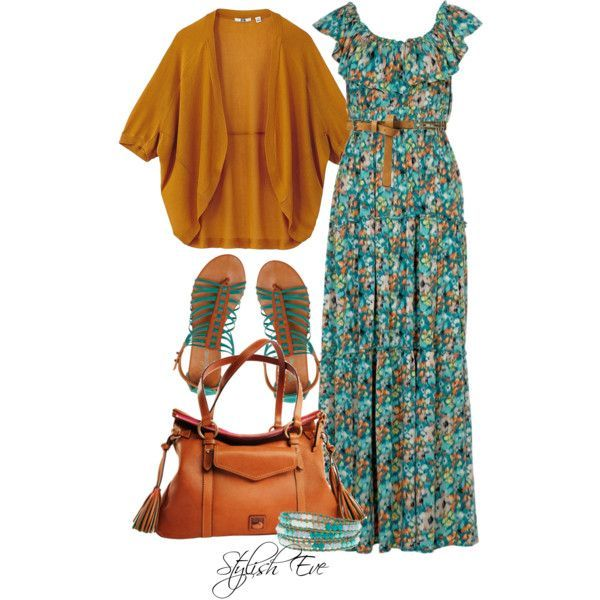 Stylish Eve Outfits 2013: Summer Maxi Dress Trends