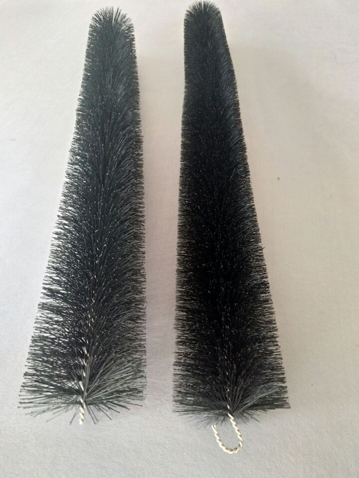stainless steel wire pp bristle pond filter brush - Gutter Brush