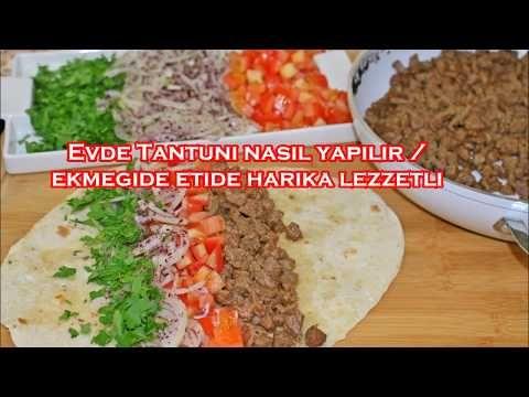 Evde Tantuni nasil yapilir / eti ve ekmegi harika lezzetli - YouTube