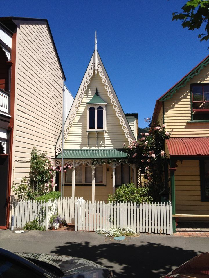 Nelson, New Zealand  - Historic South Street, NZ's oldest preserved street.