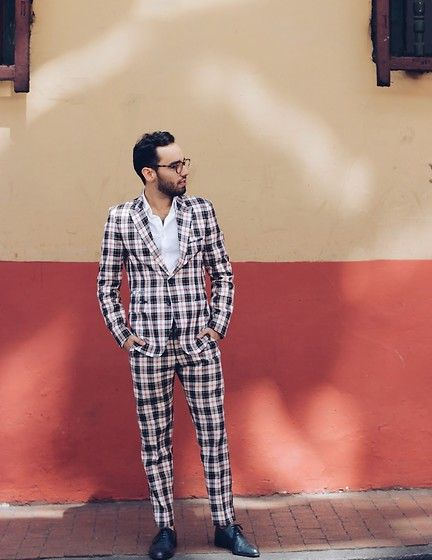 Men's Fashion Inspiration — menoflookbook:   The Perfect Plaid Suit (by Nelson...