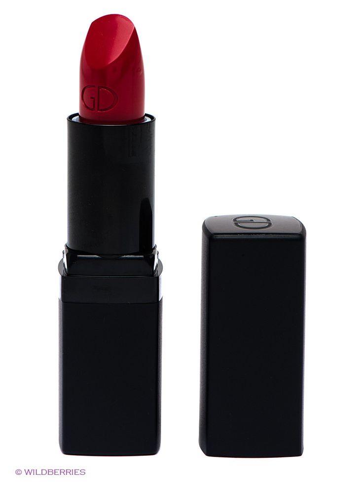 """Увлажняющая матовая помада для губ """"Luminous Matte"""", 111 тон GA-DE. Цвет красный."""