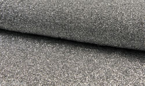 SPARKLE-TINSEL-4-way-stretch-fabric-material-140cm-wide-Sparkling-SILVER-Glitter