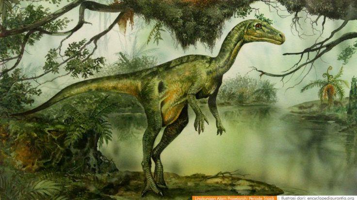 wacananusantara.org   Lingkungan Alam Prasejarah; Periode Triasik