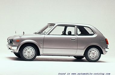 1972 Honda Civic SB1 - First Generation (1973 - 1979)