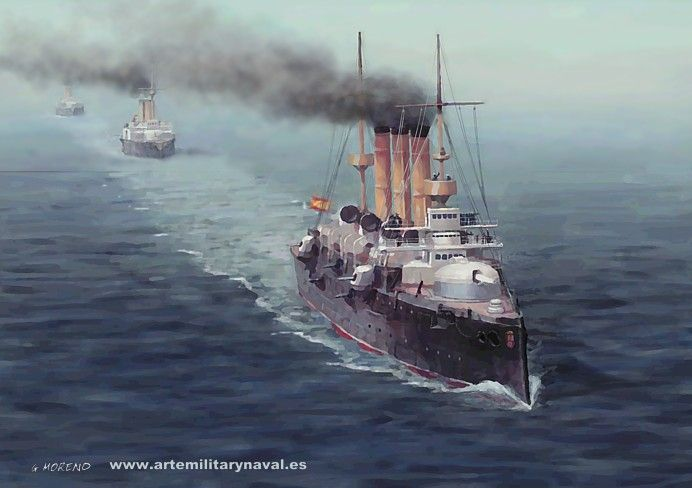 Pintura Militar y Naval: La Armada Española del XIX (1)