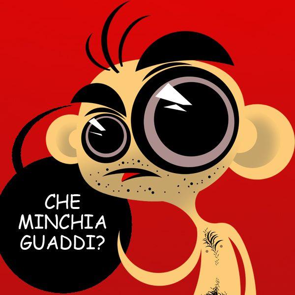 "Gianluca Galati (Giga Illustrator) ""Comic Sans is Beautiful"" project by Massoneria Creativa, on Behance"