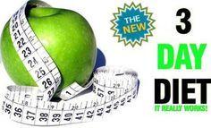 Dieta per dimagrire 2 chili in tre giorni