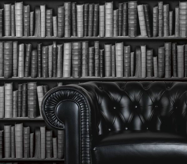 Library Book Wallpaper Black and Grey Libraries, Grey