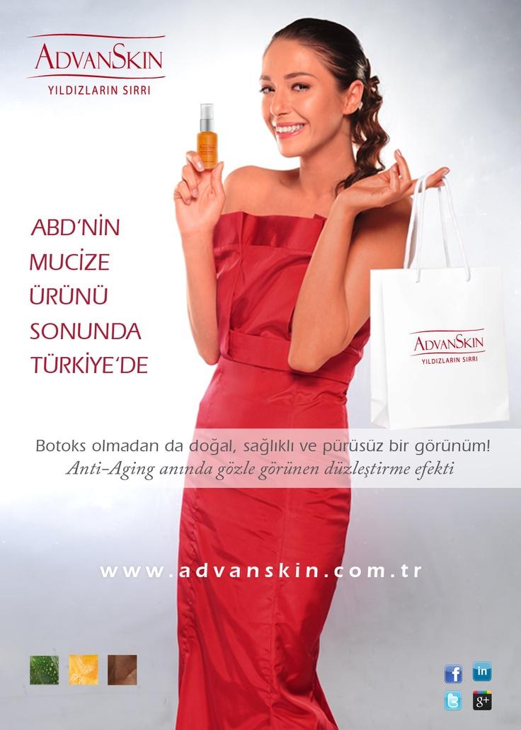 Botox'a Alternatif Olarak Geliştirilen AdvanSkin, Amerika ve Avrupa'dan Sonra Şimdi Türkiye'de…