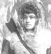 Josephine Cecilia Diebitsch Peary  was an American author and arctic explorer. In 1888 she married Arctic explorer Robert Peary, whom she often accompanied on his northern travels, recording her experiences in a series of books including My Arctic Journal and The Snow Baby. She died on December 19, 1955, only a few months after having been granted the National Geographic Society's highest honor, the Medal of Achievement, for her Arctic accomplishments.