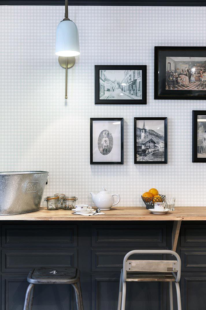 Im genes de la decoraci n de interiores vintage en - Interiores de restaurantes ...