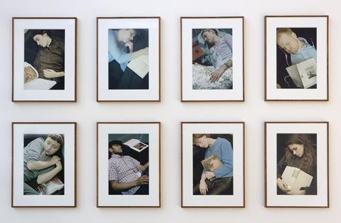 Yeb Wiersma, Departure, Cooper-Union Library, New York (2001) in de tentoonstelling Tweeëntwintigduizendvijfhonderd (2007). © Gert Jan van Rooij, Museum De Paviljoens