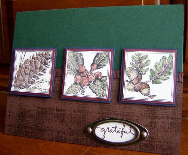 Card Making Ideas Nature Part - 18: Close To Nature
