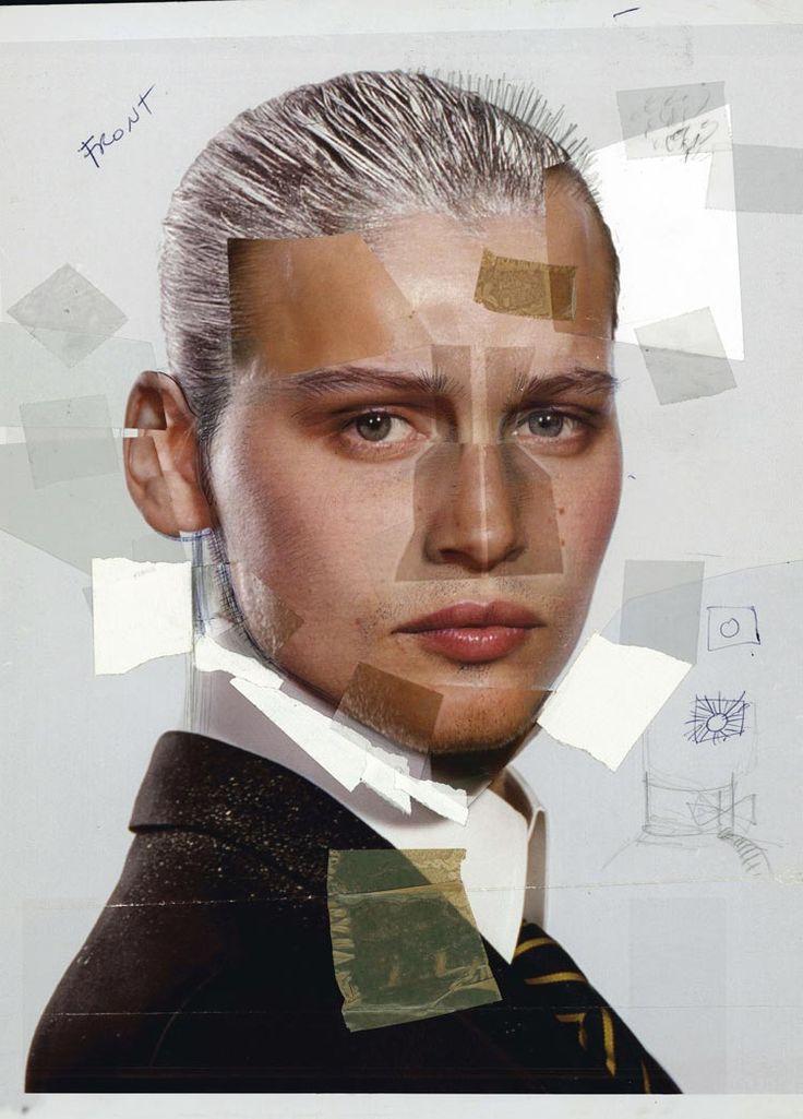 Chirurgie artistique?  Les Galeries Lafayette : L'Homme, Paris, 2004, Collage © Jean-Paul Goude