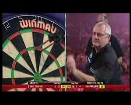 9 darter John Boy Walton Winmau World Masters 2007