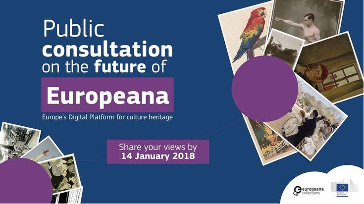 Europeana. Plataforma digital de contenido documental y audiovisual sobre patrimonio y cultura europea.