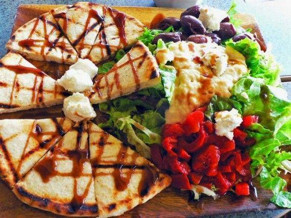 yummy greek food