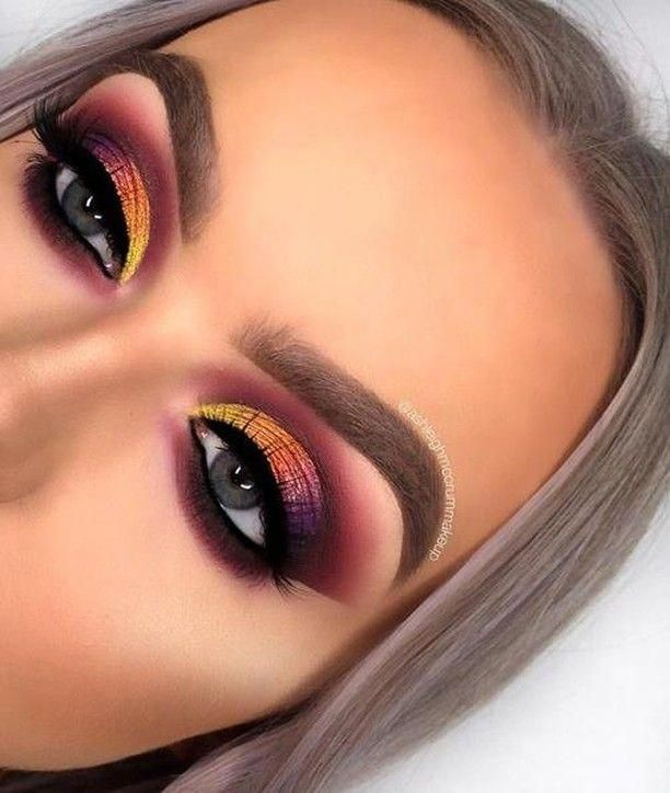 Eye Makeup Zones Who To Do Eye Makeup Eye Makeup Blue Eyes Eye Makeup On Red Dress How Much Does Mac Charge Fo In 2020 Colorful Eye Makeup Makeup Eyeshadow Makeup