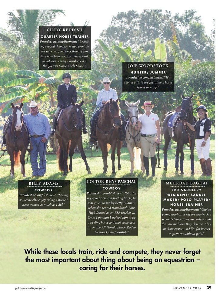 105 best Horses of South Florida and Points Beyond images on - proudest accomplishment