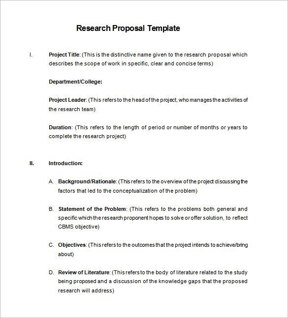 Template Net Research Proposal 17 Free Sample Example Format 15b03811 Resumesample Project Dissertation Rationale