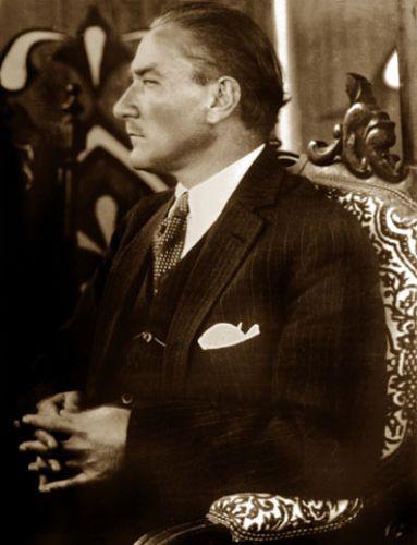 Gazi Mustafa Kemal in 1927.